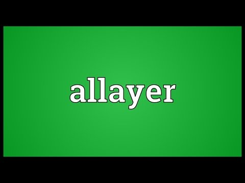 Header of allayer