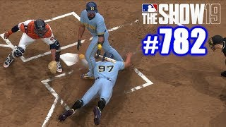 STEALING HOME THROUGH THE BATTER'S LEGS! | MLB The Show 19 | Road to the Show #782