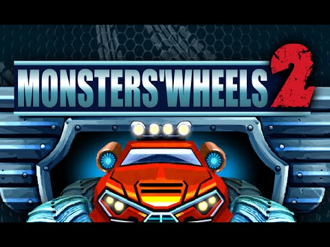 Monster Wheels 2 Gameplay