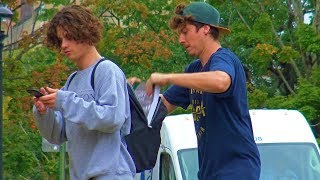 Stealing Peoples College Books Prank