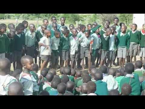Boys Dance at Sikirar Primary School