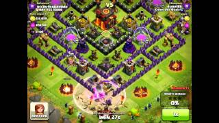 Clash of Clans - [Stratégie d'attaque] GOWIPE (GOWIPE attack strategy)