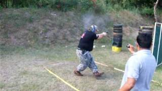 ipsc shooting drills | One of my shooting competition stages