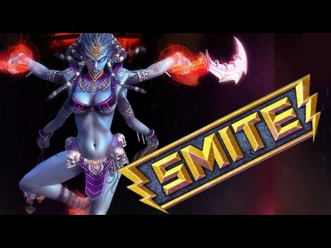 Smite! New MOBA First Look HD [1080p] (Beta - Odin Gameplay)