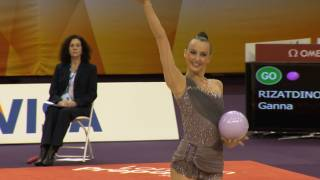 OG Qualifs London12 -- Ganna RIZATDINOVA (UKR)