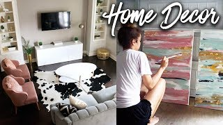 Decorating My House! DIY Projects + New Furniture!