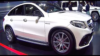 New Mercedes GLE63 AMG turbo 2016, 2017  SUV,  interior, exterior video