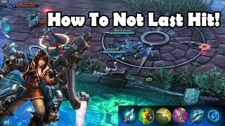 CP Skye - How To Not Last Hit! | Vainglory