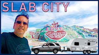 Imperial Dunes and Dystopian California: Slab City and the Salton Sea