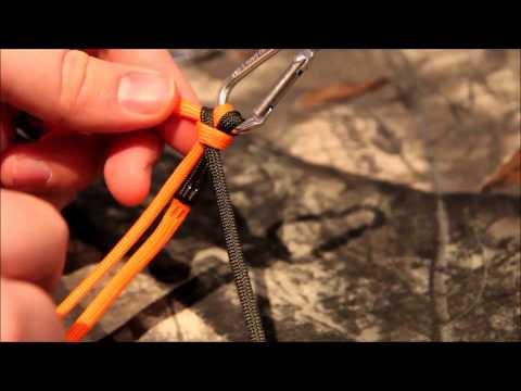 Snake Knot Lanyard tutorial.