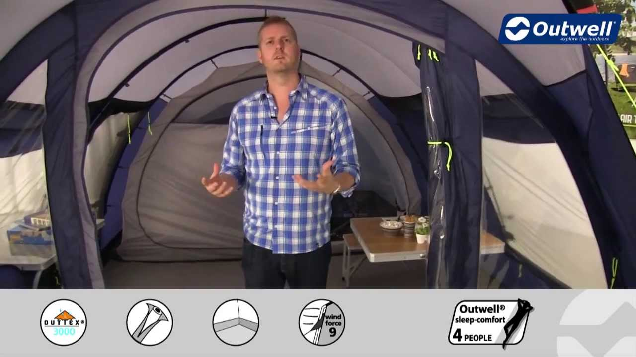 Outwell Whitecove 5 Tent  Innovative Family Camping  YouTube