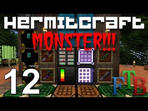 Hermitcraft FTB Monster Ep. 12 - Wither Skelly Madness !!!