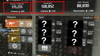 """HOW TO MAKE THE """"GOD MODE"""" BUILD IN PATCH 1.8.2... (THE DIVISION)"""