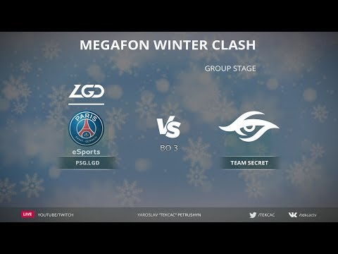 [RU] Team Secret vs PSG.LGD | Bo3 | MegaFon Winter Clash by @Tekcac