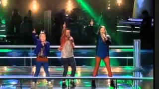The voice kids battle Emma Jasmijn Hannah