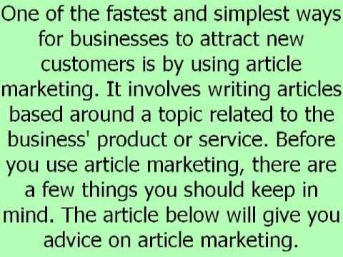 0 Article Marketing Services