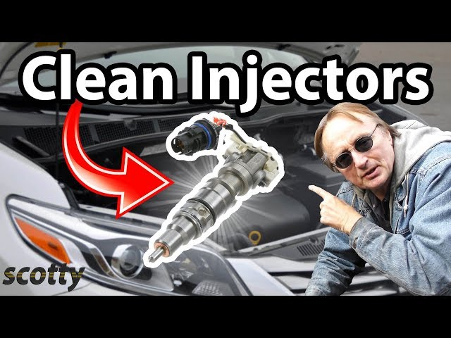 How to clean fuel injectors in your car. - YouTube