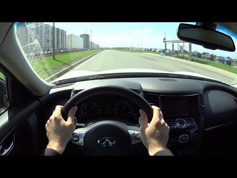 2016 Infiniti QX70 POV Test Drive