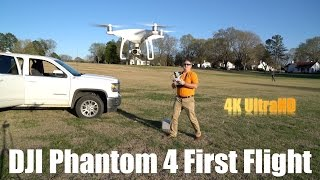 DJI Phantom 4 First Flight