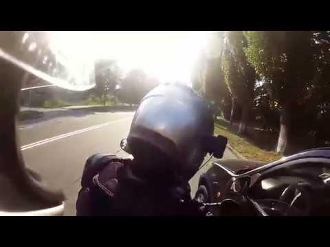 Избежали мото ДТП. Угарная поездка с другом)) на Yamaha XTX 660