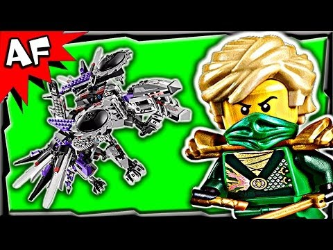 Nindroid Mech Dragon 70725 Lego Ninjago Rebooted Animated Building Set Review video