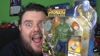 Marvel Avengers Infinity War HULK Hasbro Hero Vision Action Figure Review