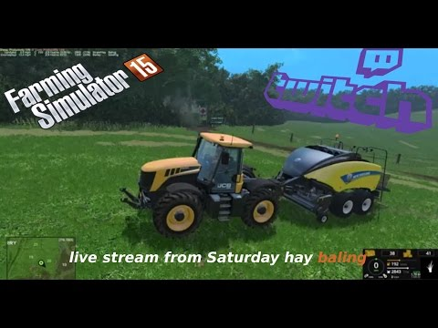 live stream from Saturday hay baling on Coldborough Park Farm 2015 ON PC