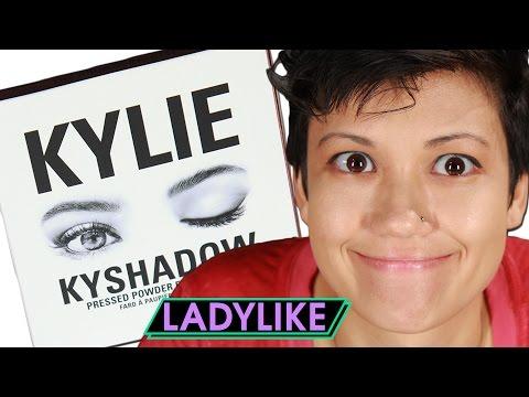Women Try Kylie Jenner's Eyeshadow • Ladylike