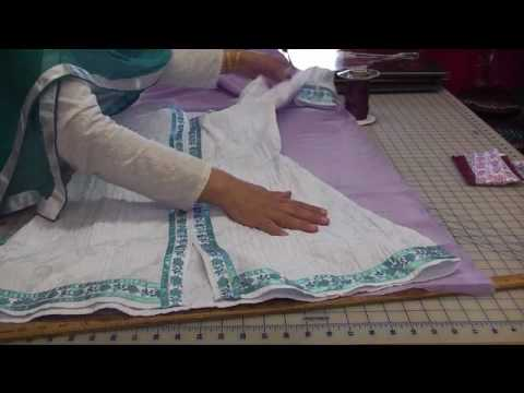 Sewing A Line Dress video