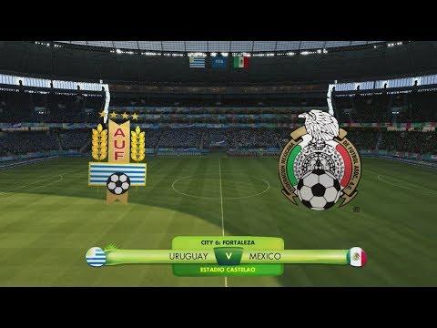 2014 FIFA World Cup Brazil - Uruguay vs Mexico - [Road to Rio de Janeiro]