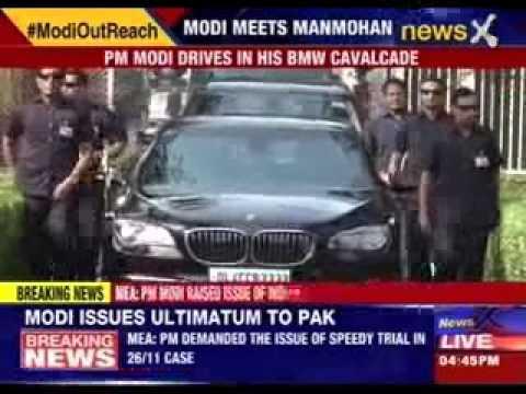 Narendra Modi meets Manmohan Singh