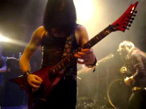 Crimson Glory - Painted Skies (guitar solo Jon Drenning)
