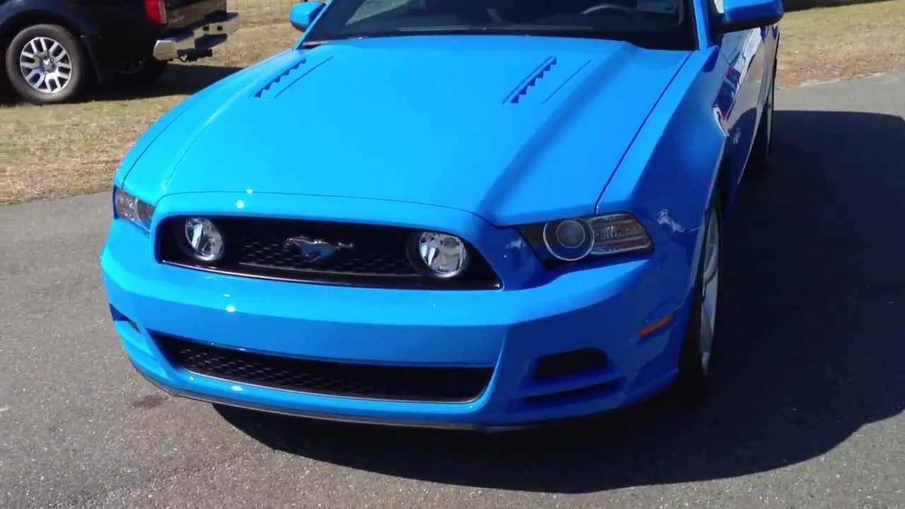 Blue Mustang gt Mustang gt Grabber Blue