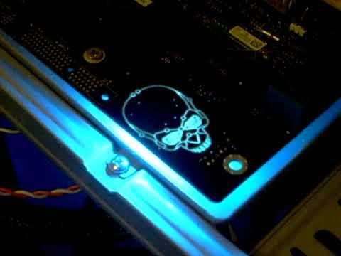 Intel Skull Motherboard Intel Dp55kg Kingsberg Skull
