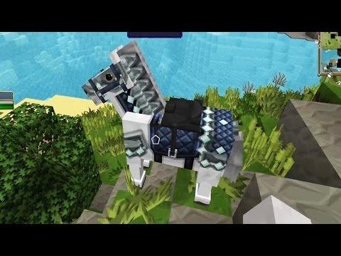 Minecraft - Race To The Moon - Horsing Around! [30]