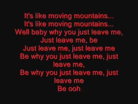 Usher   Moving Mountains with Lyrics   YouTube