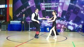 Kerstin Engel & Johannes Hien - Norddeutsche Meisterschaft 2016