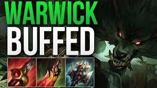 WARWICK 8.24b IS AMAZING! | WARWICK MAIN JUNGLE GAMEPLAY | Patch 8.24 S8