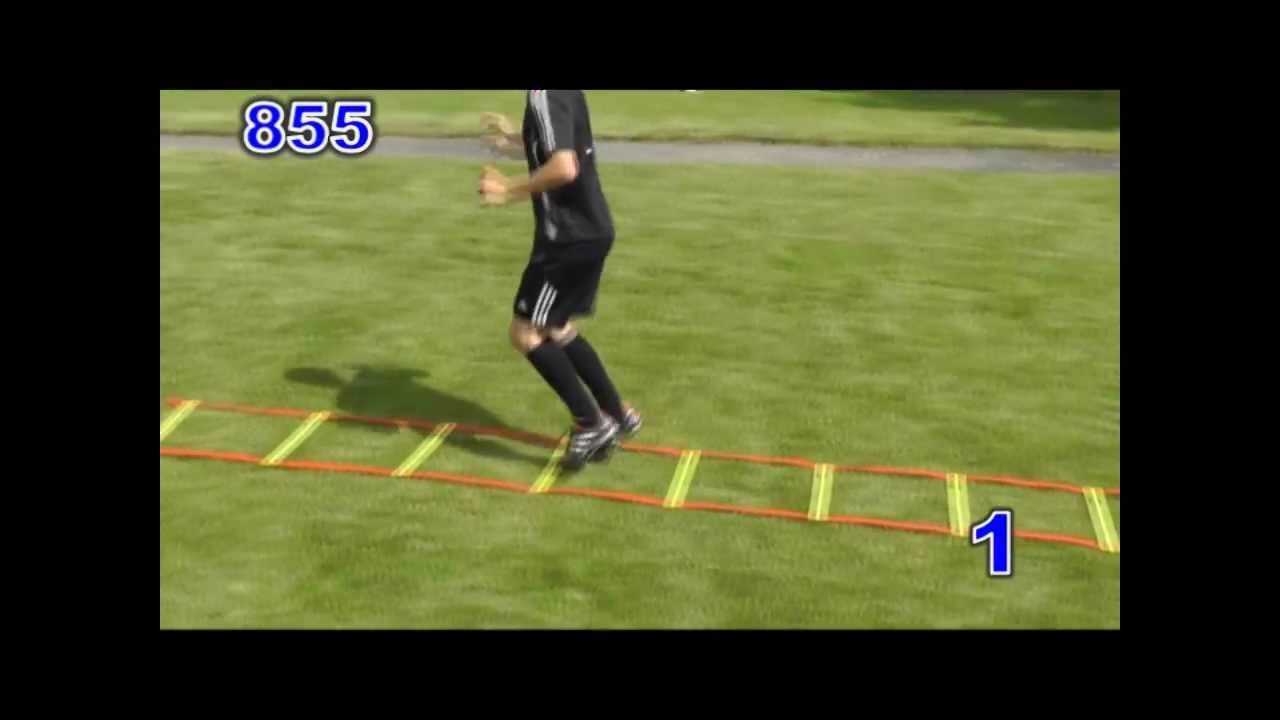 30 Speed Ladder Drills Soccer Youtube