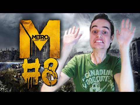 EEN IETS TE WILD RITJE! - Metro Last Light #8 (Gameplay/Walkthrough)