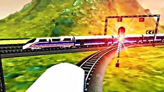 Euro Train Driving Games - Simulasi Kereta Api (Level 25) (Android Game)