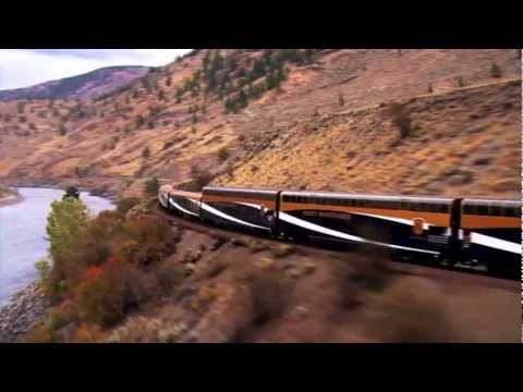 The Rocky Mountaineer train Coastal Passage route connecting Seattle (via Vancouver, BC) to Banff and Jasper (in the Canadian Rockies) and Calgary (Alberta)....