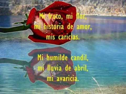 lyrics poema de: