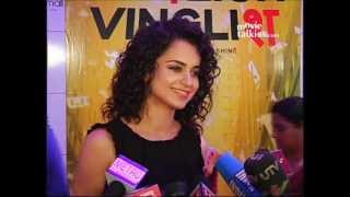 English Vinglish - Kangana Ranaut: 'I Will Enjoy 'English Vinglish' As Even My English Is Not Fluent'
