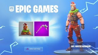 How To Unlock New 'REINDEER LLAMA' Fortnite Christmas Skin! (New Fortnite Battle Royale Skins)