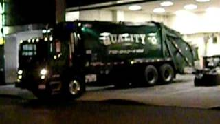 Quality Disposal Inc (Mack MR Series with 2010 Leach Rear Loader)...