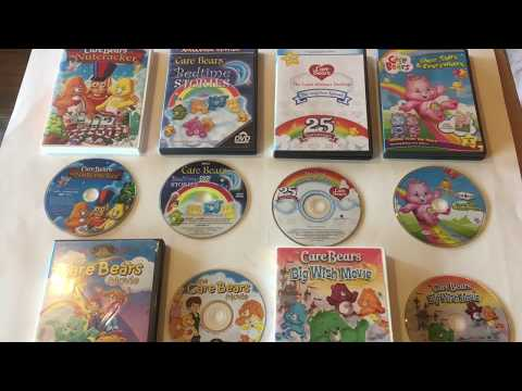 Care Bears DVD Cartoon Movie Collection -