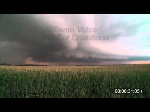 7/22/2010 Douglas County MN Tornadic Stock B-Roll Video