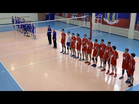 Волейбол. Юноши. Игра. г. Москва - Воронежская  область - 3:0