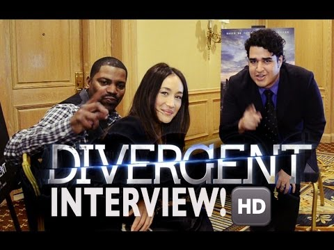 DIVERGENT - Red Carpet + Interview with Maggie Q & Mekhi Phifer & Audience Reviews! [HD] 2014